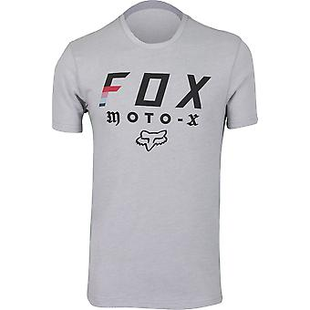 Fox Racing Mens Streak SS Airline Tee - Gray/Black