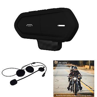 BE6 MC interfono per moto Bluetooth Wireless Ski Helmet-Black