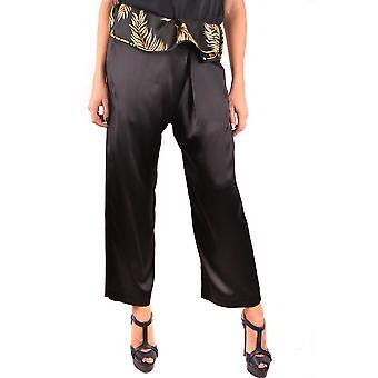 Forte_forte Black Silk Pants