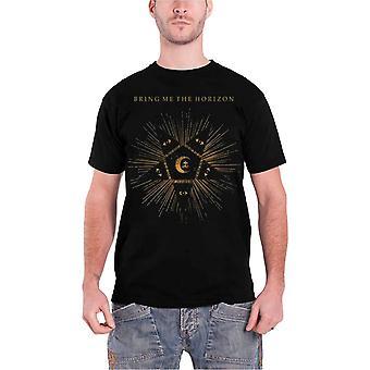 Bring Me The Horizon Mens T Shirt Black Star band logo Official