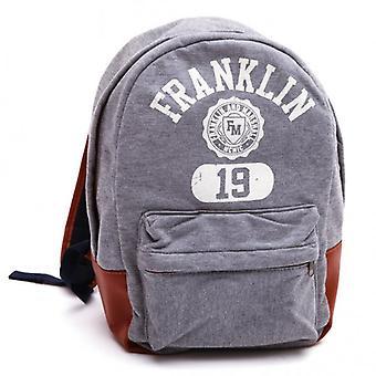 Franklin & Marshall Backpack, Grey Melange