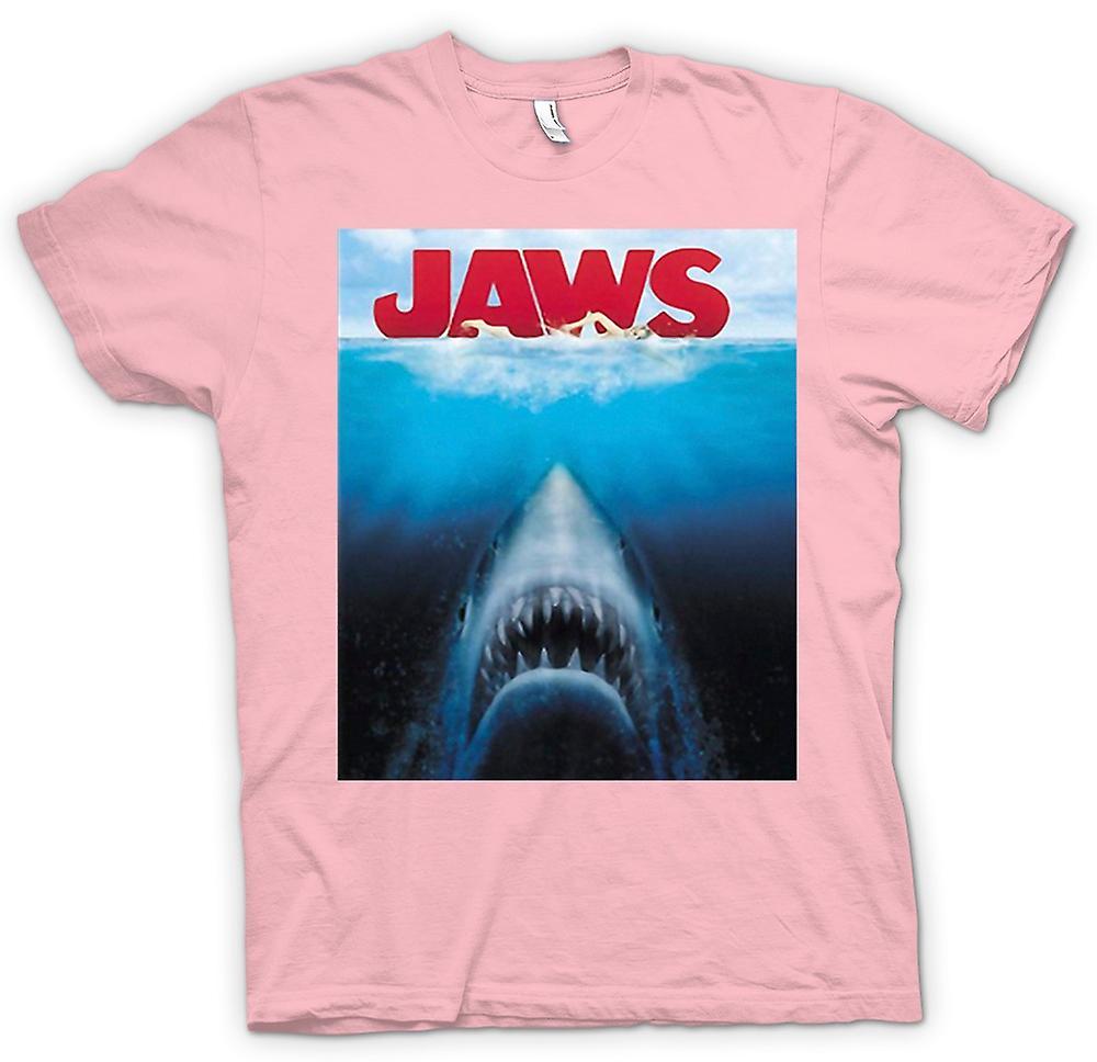 Womens T Shirt Jaws Great White Shark Movie Fruugo