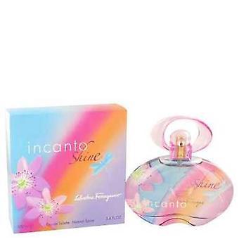 Incanto Shine de Salvatore Ferragamo Eau De Toilette Spray 3.4 Oz (femmes) V728-439696