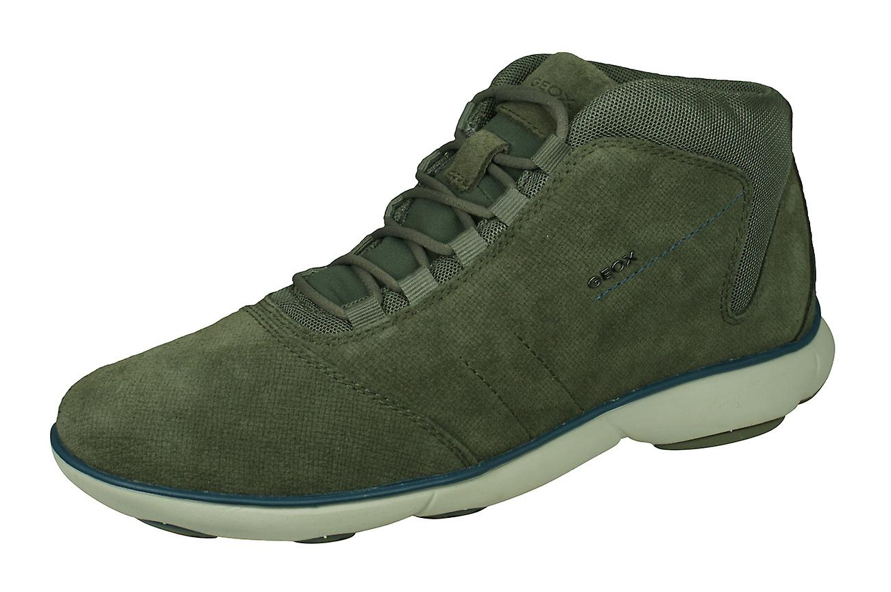 Geox U Nebula A Mens Suede Trainers   chaussures - Taupe