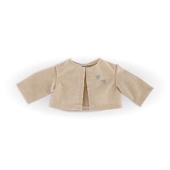 Ma Corolle-Knitted Gold Poppencoat