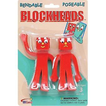 Figuras de acción - Gumby Blockheads 5