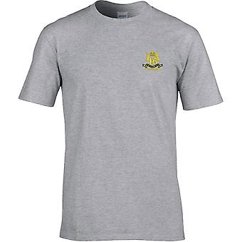 16th 5th The Queens Royal Lancers Veteran - Licensed British Army Embroidered Premium T-Shirt