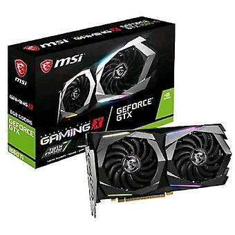 Msi nvidia geforce gtx 1660 ti gaming x 6gb gddr6 pci express 3.0 interface active cooling