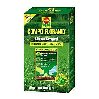 Compo Lawn Fertilization Floranid 3kg (Garden , Others)