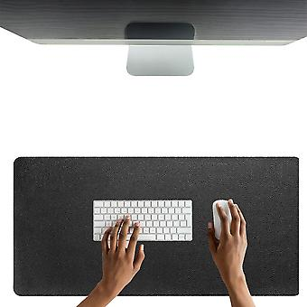 DIGIFLEX Extra große Maus Pad Leder Effekt wasserdicht 100cm x 50cm - Schwarz