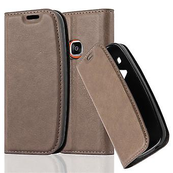 Cadorabo tilfældet for Nokia 3310 (2017 & 2G)-med magnetisk lås, stativ funktion og kort slot-tegnebog taske Cover pose PU læder flip