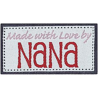 Iron On Lovelabels 4 Pkg Made With Love By Nana 2500 2583