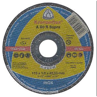 Klingspor A60R 115mm Metal langskæring Disc 1mm