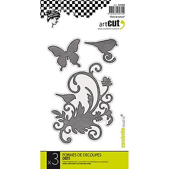 Carabelle Art Cut Die-In The Nature, 3/Pkg AC60008