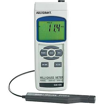 VOLTCRAFT GM-100 Magnetic field-analysis apparatus, Magnetic field tester