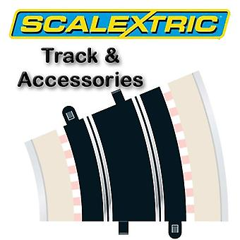 Scalextric Track - courbe de rayon 3 22.5o (2)(C153)