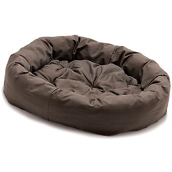 Hund gået Smart Donut sengen brun 89cm