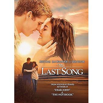 Sidste sang [DVD] USA importerer