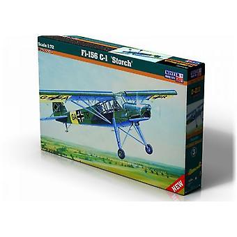 Mister håndværk Model Kit - Fi - 156C Storch fly - 1: 72 skala - D-211 042110