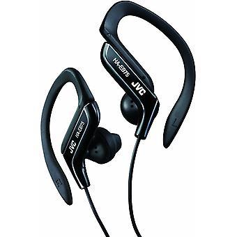 JVC Sports Ear Clip Headphones with Adjustable Clip - Black (HAEB75B)