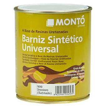 Monto pinturas Synthetic satin varnish Colourless