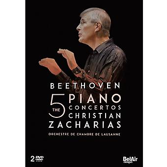 L.V. Beethoven - Concertos Pour Piano Integrale [DVD] USA import