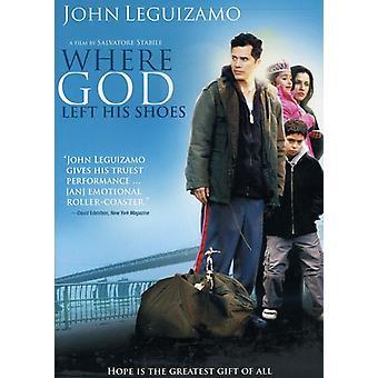 Där Gud vänster hans skor [DVD] USA import