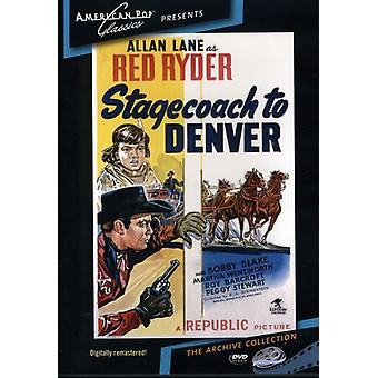 Stagecoach to Denver (1946) [DVD] USA import