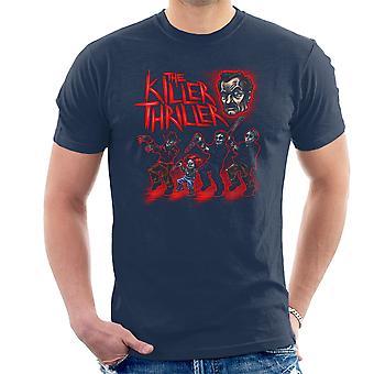 Killer Thriller Horror Club menn t-skjorte
