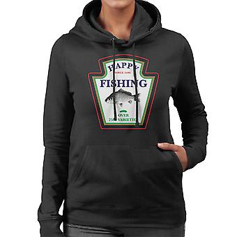 Happy Fishing Over 2500 Varieties Women's Hooded Sweatshirt