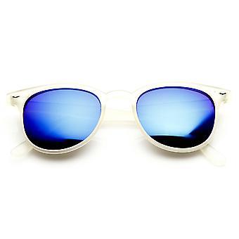 Маленький ретро P3 рога оправе солнцезащитные очки с цветом Зеркало объектива
