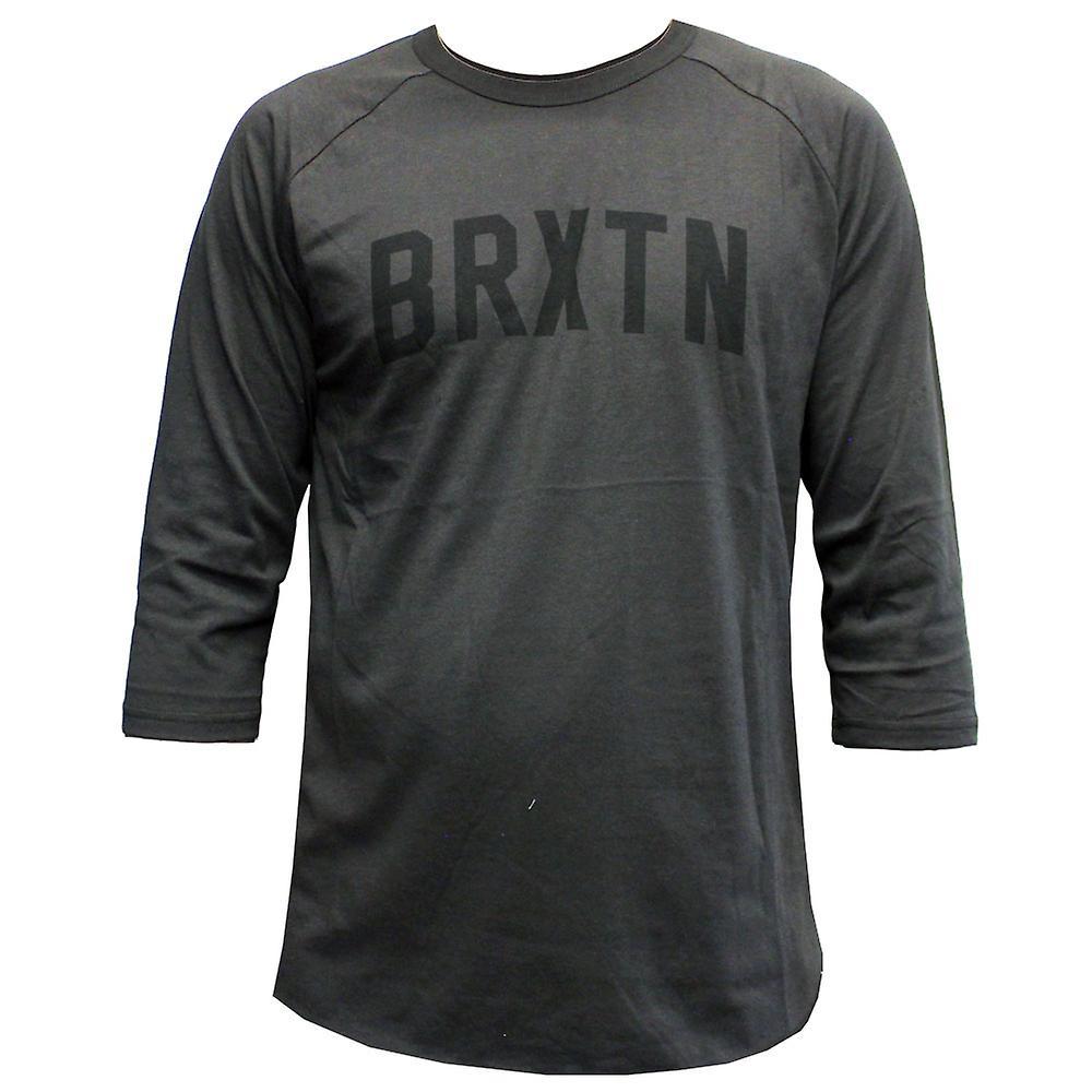 Brixton Hamilton T-Shirt Washed Black
