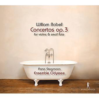 Babell / Ensemble Odyssee / Stegmann - Babell: koncerter Op 3 [CD] USA import