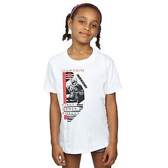 Star Wars Girls The Last Jedi Captain Phasma T-Shirt