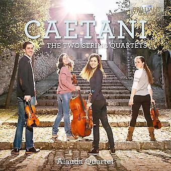 Caetani / Alauda Quartet - Caetani: importazione USA due quartetti della stringa [CD]