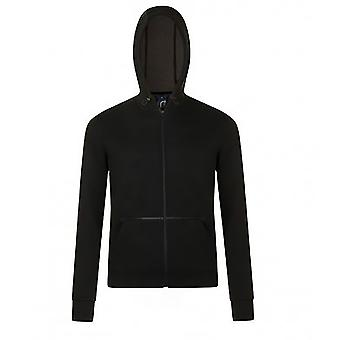 SOLS Unisex Volt Zip Hooded Jacket