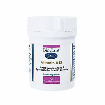 Biocare Vitamin B12 250ug (time released), 30 tablets