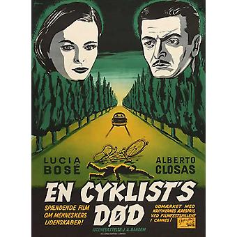 Death of a Cyclist Movie Poster (11 x 17)