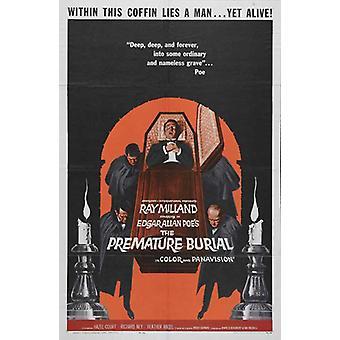 Premature Burial Movie Poster (11 x 17)