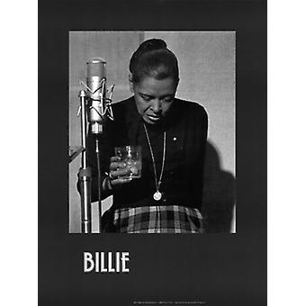 Billie Holiday Last Recording Session Poster Print by Milton J hinton (18 x 24)
