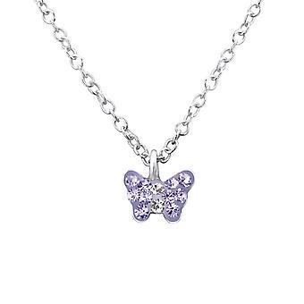 Schmetterling - 925 Sterling Silber Ketten - W29870x