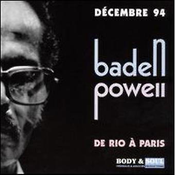 Baden Powell - importación De Rio a Paris [CD] Estados Unidos