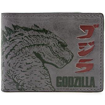 Warner Bros Godzilla Movie ID & Card Bi-Fold Wallet