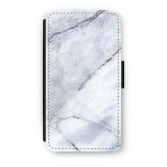 Samsung Galaxy S6 Edge Flip Case - marmer-Wit