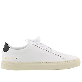 Common projects ladies 38390547 White leather of sneakers