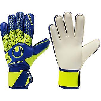 UHLSPORT SOFT SUPPORTFRAME Goalkeeper Gloves Size