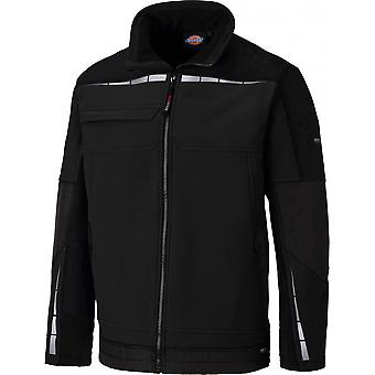 DICKIES Mens Pro Polyester Softshell réfléchissant Workwear Jacket