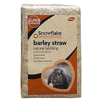 Schneeflocke Gerstenstroh natürliche Einstreu für Kaninchen