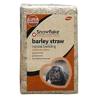 Snowflake Barley Straw natural bedding for rabbit