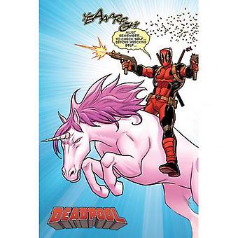 Deadpool Poster Unicorn 298